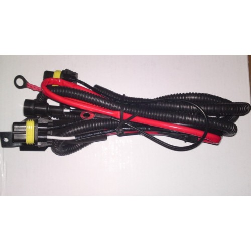 HID RELAY WIRING HARNESS 40AMP on